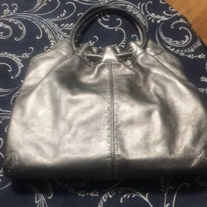 Silver slightly used Kors bag!!